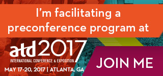 ATD 2017 Facilitator Badge - Colorful Graphic For Event