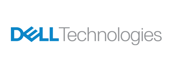 Dell Technologies Logo - Blue and gray sans-serif type