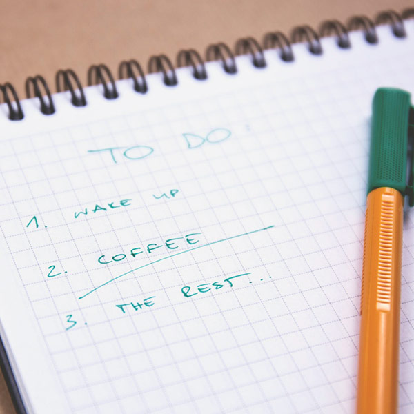Notepad With To Do List And Pen