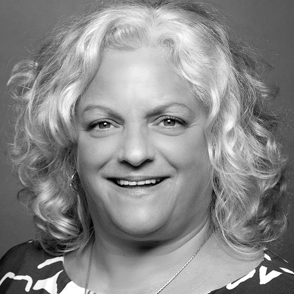 Tamara McCulloch black and white headshot
