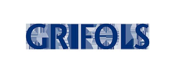 Grifols Logo - Dark blue sans-serif type